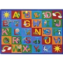 Click here for more Learning Letter Sounds Carpet by Joy Carpets by Worthington