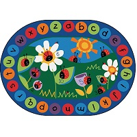 Click here for more Ladybug Circletime Rug by Carpets for Kids by Worthington