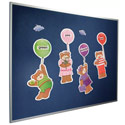 Velcro-Compatible Fab-Tak Bulletin Board by Best-Rite