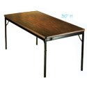 Classic Series Folding Tables by Barricks