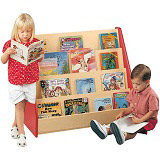 2000 Series Single-Sided Book Stand by Tot-Mate