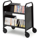 Click here for more Double-Sided UPS-able Booktrucks by Bretford by Worthington