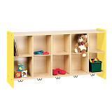 2000 Series Cubbie Wall Storage Unit by Tot-Mate