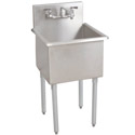 Budget Stainless Steel Compartment Sinks by Diversified Woodcraft