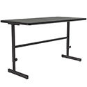 Click here for more Pedestal Base Computer Tables w/ Adjustable Height by Correll by Worthington