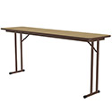 ST Series Folding Seminar Tables w/ Offset Legs by Correll
