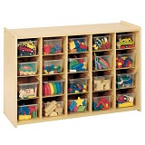 2000 Series Cubbie Storage Unit by Tot-Mate
