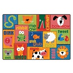 Click here for more Animal Sounds KIDSoft Rugs by Carpets for Kids by Worthington