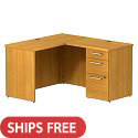 Click here for more Realize Series L-Shaped Desks by Bush Business Furniture by Worthington