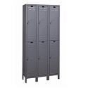 ValueMax Double-Tier Metal Lockers by Hallowell