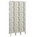 Click here for more Heavy-Duty Ventilated Six-Tier 3-Wide Lockers by Hallowell by Worthington