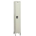 Rust Resistant Galvanite Single-Tier 1-Wide Lockers by Hallowell