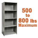 Click here for more Heavy-Duty Closed Shelving w/ 5 Shelves by Hallowell by Worthington
