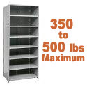 Medium-Duty Closed Shelving w/ 8 Shelves by Hallowell