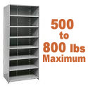 Heavy-Duty Closed Shelving w/ 8 Shelves by Hallowell