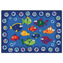 Fishing for Literacy Carpet by Carpets for Kids