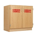 Click here for more Corrosive Chemical Storage Cabinet by Diversified Woodcrafts by Worthington