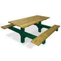 Click here for more Traditional Dual Pedestal Picnic Tables by UltraPlay by Worthington