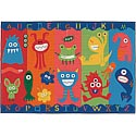 Alphabet Monsters Value Rug by Carpets for Kids