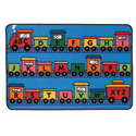 Click here for more Alphabet Train Value Rug by Carpets for Kids by Worthington