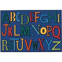 Click here for more Playful Alphabet Value Rug by Carpets for Kids by Worthington