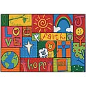 Click here for more Inspirational Patchwork Value Rug by Carpets for Kids by Worthington