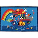 Click here for more Noah's Animals Value Rug by Carpets for Kids by Worthington