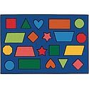 Click here for more Color Shapes Value Rug by Carpets for Kids by Worthington