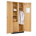Click here for more Oak Wardrobe Cabinet by Diversified Woodcrafts by Worthington