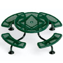 Click here for more Round Ultrasite Span Leg Outdoor Tables by UltraPlay by Worthington