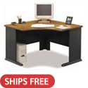 Click here for more Series A Corner Desk by Bush Industries by Worthington