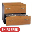 Series C Office Lateral File Cabinets by Bush Industries