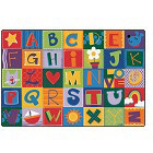 Alphabet Blocks KIDSoft Rugs by Carpets for Kids