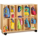 Click here for more Mobile 20 Section Two-Sided Backpack Cubbie by Jonti-Craft by Worthington