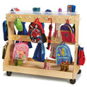 Click here for more Mobile Backpack Cart w/ Cubbie Trays by Jonti Craft by Worthington
