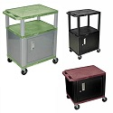 Color Tuffy Carts with Cabinet by H. Wilson