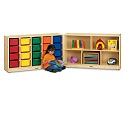 E-Z Glide Fold-n-Lock - 20 Cubbies by Jonti-Craft