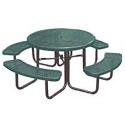 Round Outdoor Picnic Tables by UltraPlay
