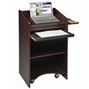 Click here for more Mobile Floor Lectern by Balt by Worthington