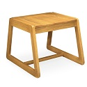 Click here for more Calculus Oak Stool by Community by Worthington