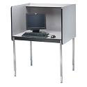 "30"" Deep Computer Carrel by Smith Carrel"