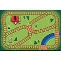 Click here for more Railroad Playtime Value Rug by Carpets for Kids by Worthington