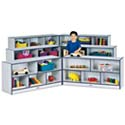 Rainbow Accents Mobile Storage Fold-N-Lock Units by Jonti-Craft