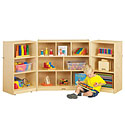 Click here for more Mobile Fold-N-Lock Storage Units by Jonti-Craft by Worthington