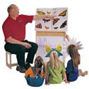 Mobile Big Book Easel Write-n-Wipe Front by Jonti-Craft