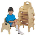 Click here for more Chairries Stackable Chairs by Jonti-Craft by Worthington