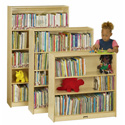 Plywood Bookcases by Jonti-Craft