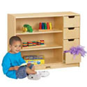 Click here for more Shelf/Drawer Storage Unit by Jonti-Craft by Worthington