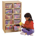 10 Tray Mobile Storage by Jonti-Craft