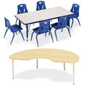 Berries Classroom Activity Tables by Jonti-Craft